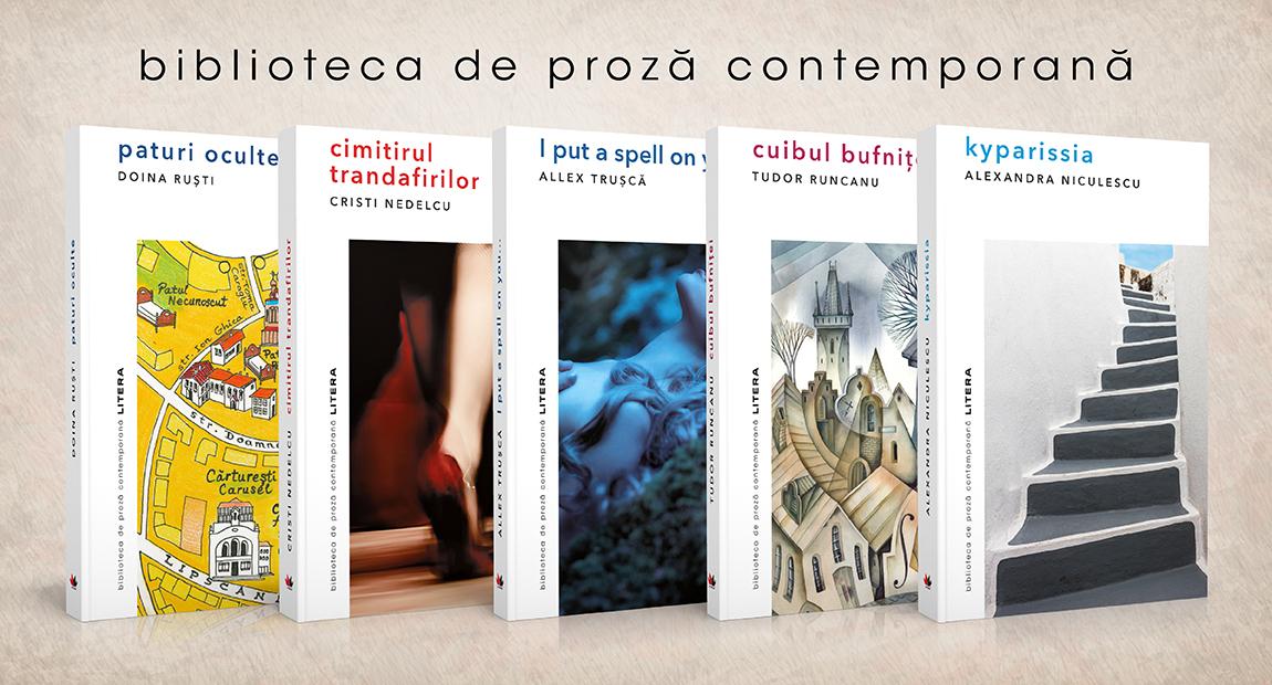 Editura Litera lansează o nouă colecție dedicată literaturii române contemporane. Este coordonată de scriitoarea Doina Ruști