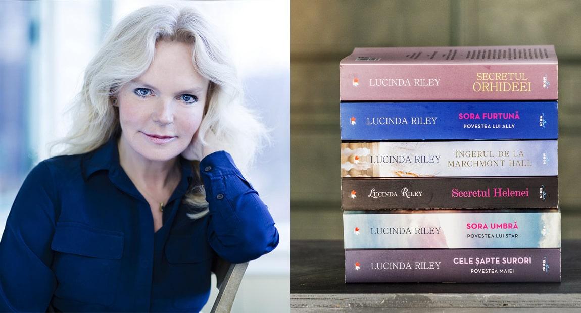 """Dosar de autor: Lucinda Riley, autoarea celebrei serii """"Cele șapte surori"""", apărută la Editura Litera"""