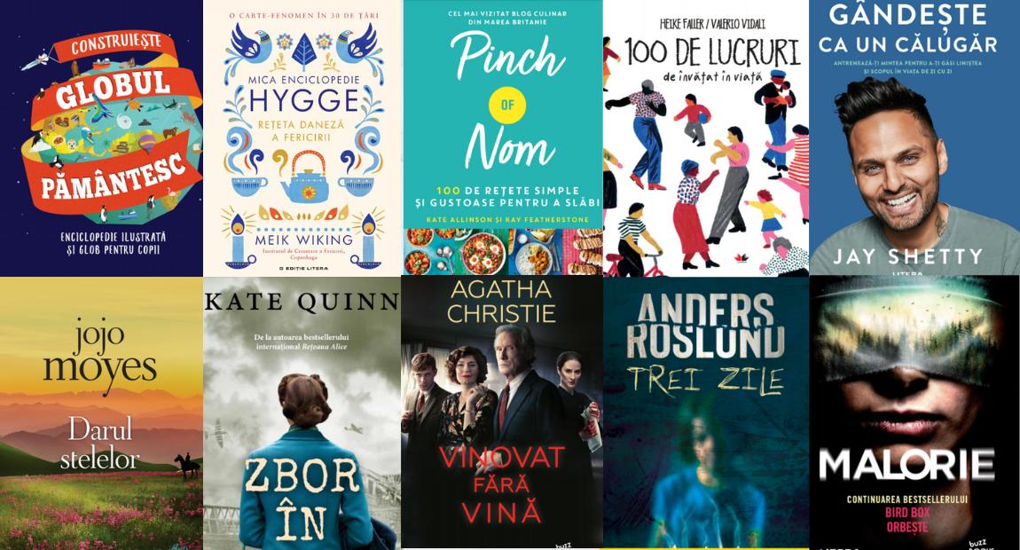 10 cărți pe care să le dăruiești celor dragi de Crăciun