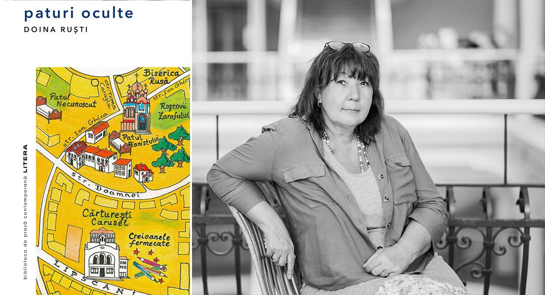 """A apărut un nou roman al scriitoarei Doina Ruști. Exclusiv: Povestea hărții din romanul """"Paturi oculte"""""""