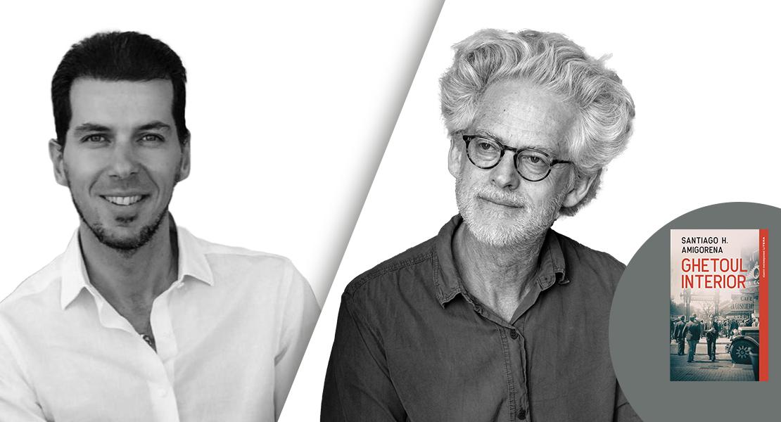 INTERVIU VIDEO. Marius Constantinescu în dialog cu Santiago H. Amigorena, laureatul premiului Goncourt – Alegerea României