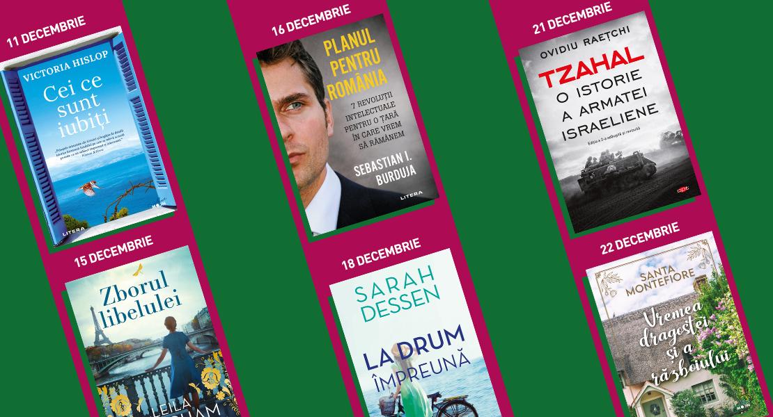 10 – 22 decembrie 2020. Titluri Litera disponibile la toate chioșcurile de presă din țară