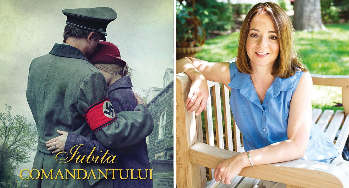 """Citește un fragment în avanpremieră din romanul """"Iubita comandantului"""", o poveste captivantă despre oameni prinși în situații imposibile"""