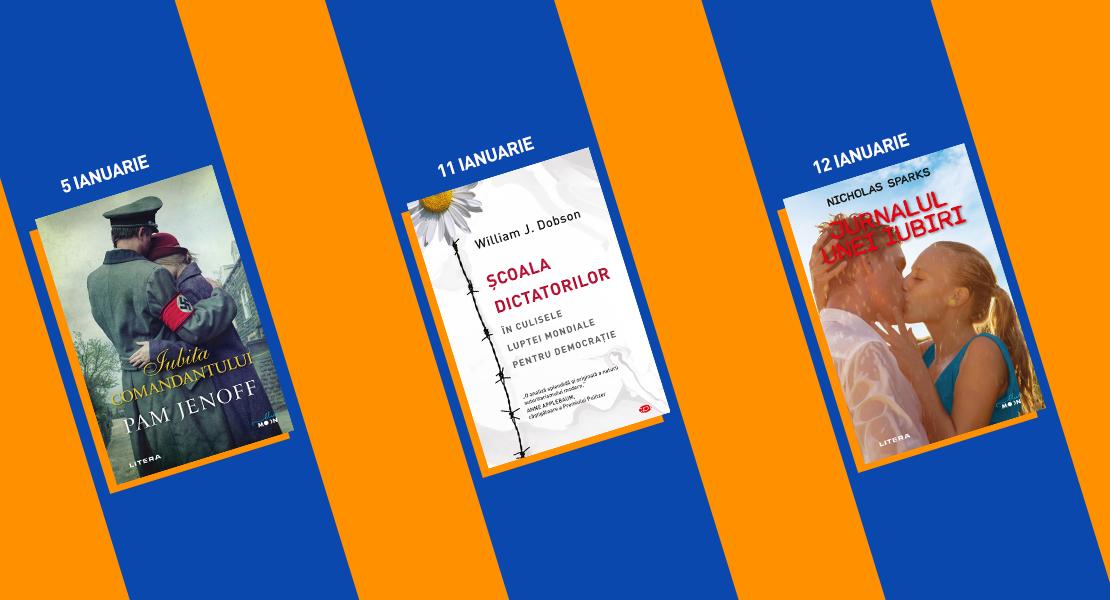 Săptămâna 5–12 ianuarie 2021. Descoperiți titlurile Litera disponibile la toate chioșcurile de presă din țară!