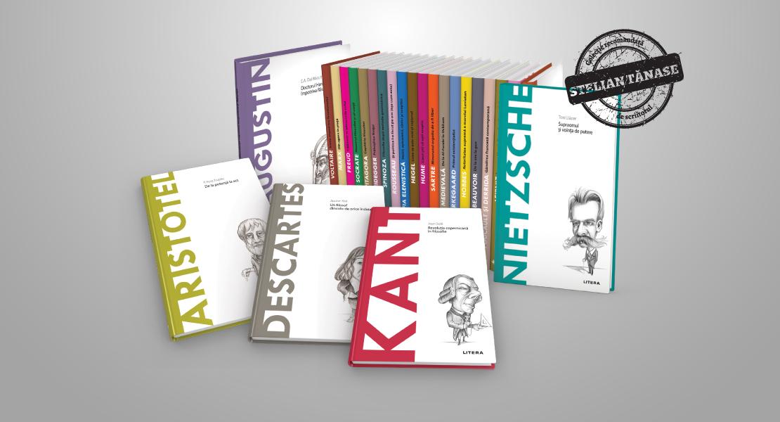 """Descoperă ideile marilor gânditori ai omenirii în 40 de volume. Colecția """"Descoperă filosofia"""", disponibilă și pe Litera.ro"""