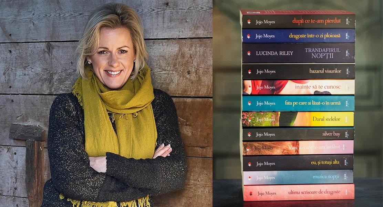 """Dosar de autor: Jojo Moyes, autoarea romanului """"Înainte să te cunosc"""", bestseller internațional disponibil pe Litera.ro"""
