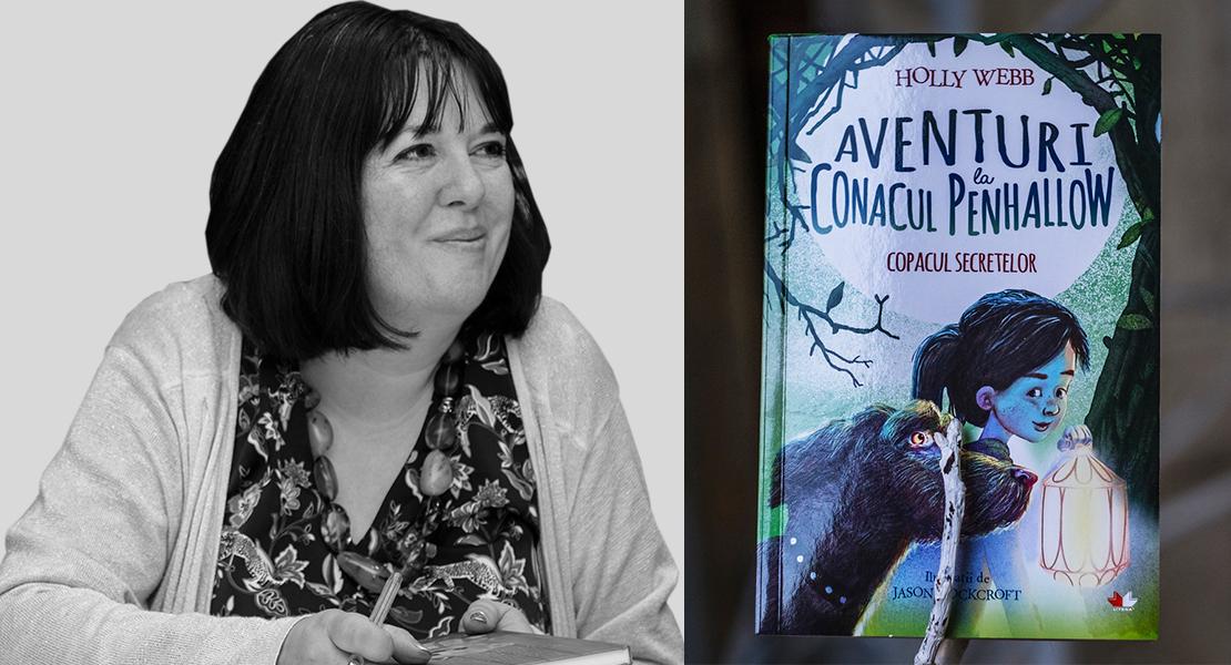 Dosar de autor: Holly Webb, preaiubita autoare de cărți pentru copii