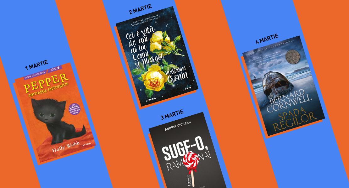 Cărți Litera la toate chioșcurile de presă. Nu ratați aparițiile din săptămâna 1-7 martie 2021!
