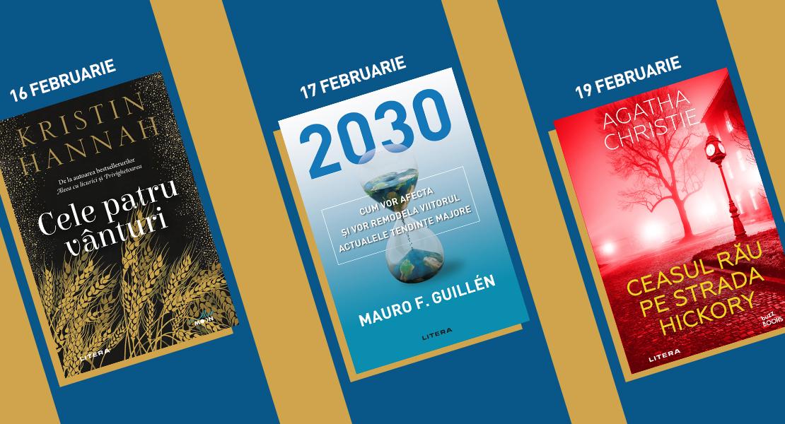 Săptămâna 15–21 februarie 2021. Titlurile Litera disponibile la chioșcurile de presă la un preț special