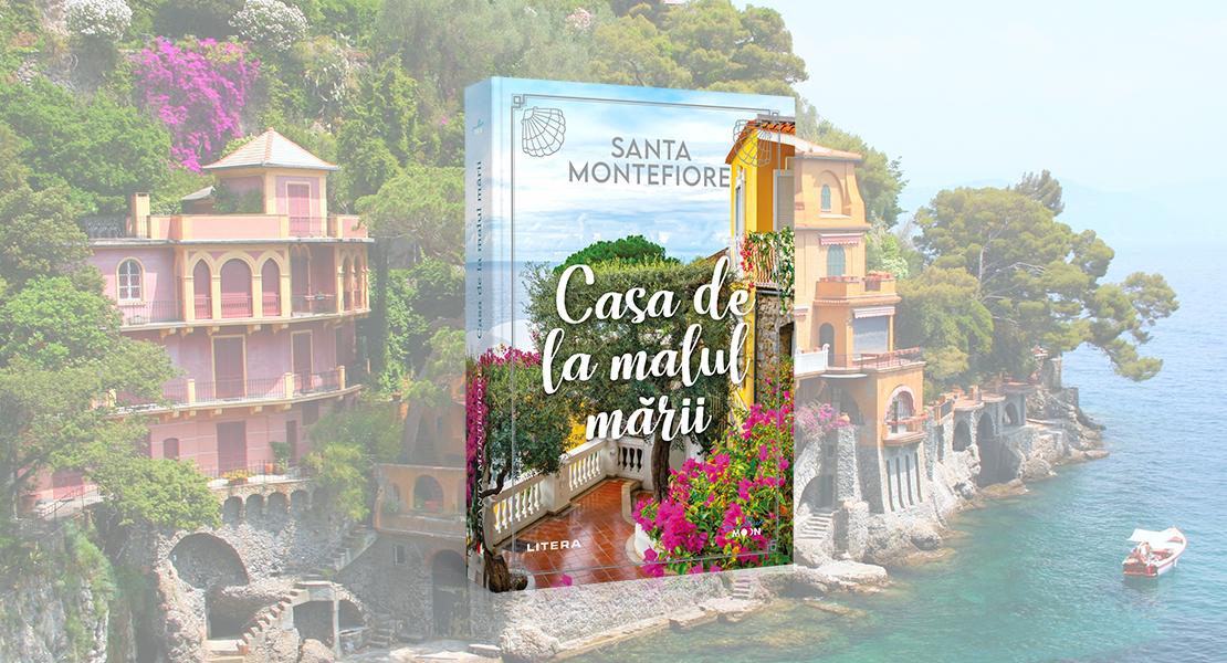 """Marți, 9 februarie 2021, la toate chioșcurile de presă: cartea """"Casa de la malul mării"""", de la Editura Litera"""