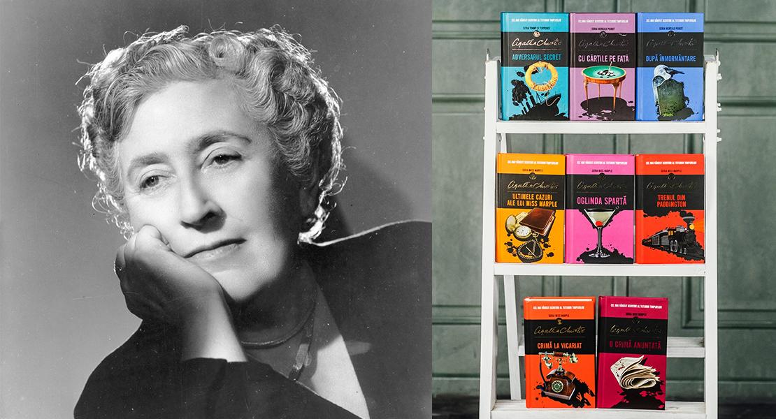 Zece cărți de Agatha Christie care te vor ține cu sufletul la gură