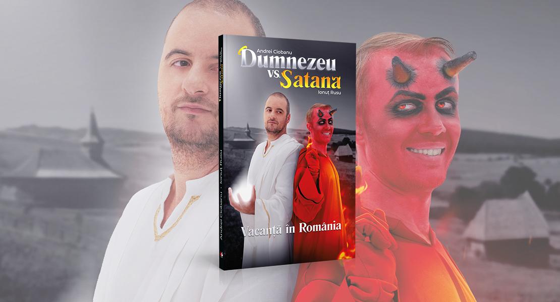 """Joi, 11 februarie 2021, la toate chioșcurile de presă: """"Dumnezeu vs. Satana"""", volum apărut la Editura Litera"""
