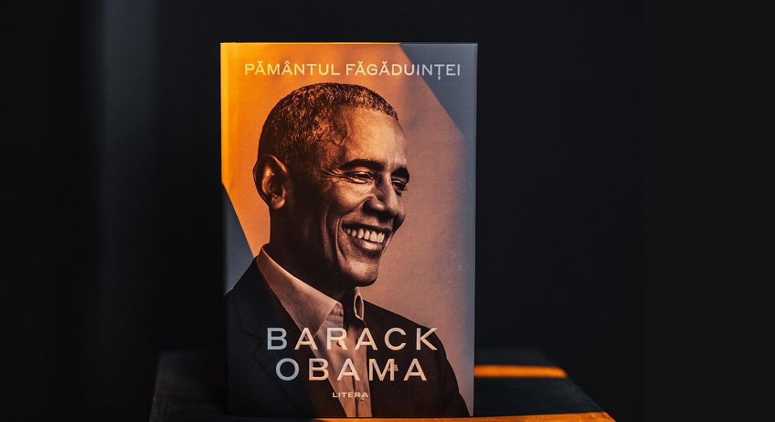 """""""Pământul făgăduinței""""ajunge în România, într-un exemplar de lux semnat de Barack Obama"""