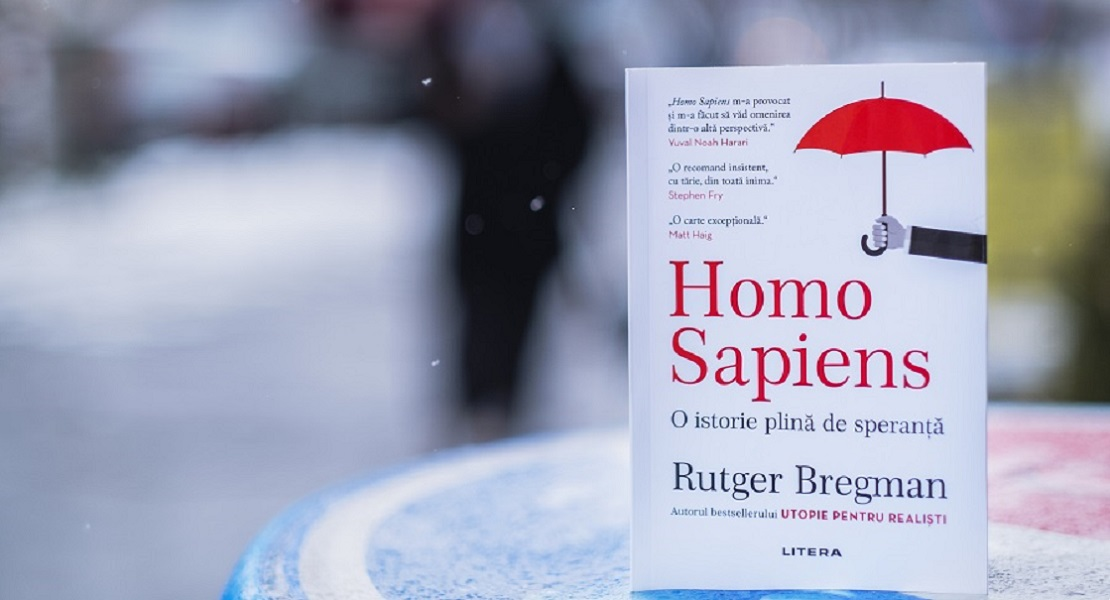 """Bestsellerul săptămânii la Editura Litera: """"Homo Sapiens"""", cartea care ne oferă o perspectivă asupra ultimilor 20.000 de ani de istorie a omenirii"""