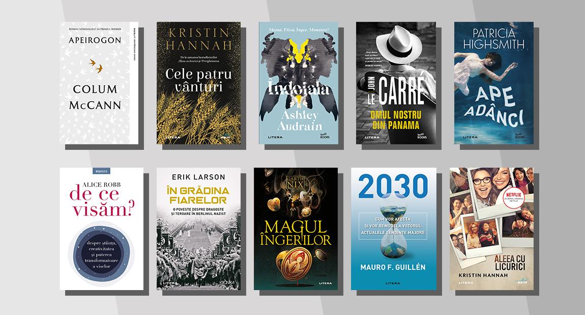 Top 10 cele mai citite cărți Litera în februarie 2021