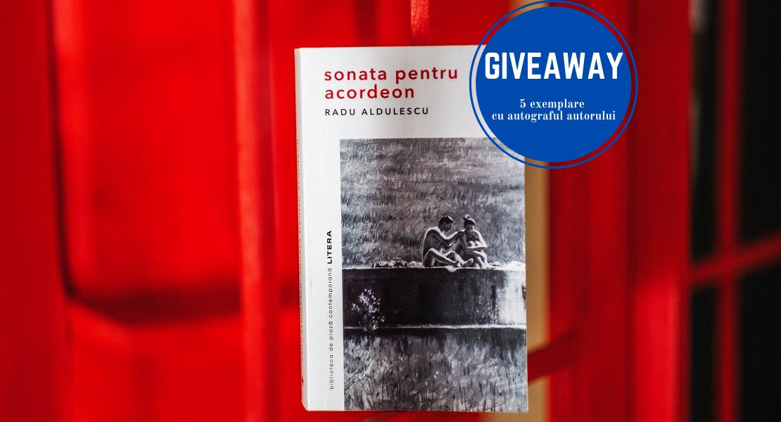 """GIVEAWAY ALERT: Câștigă unul din cele 5 exemplare ale cărții """"Sonata pentru acordeon"""" cu autograful autorului"""