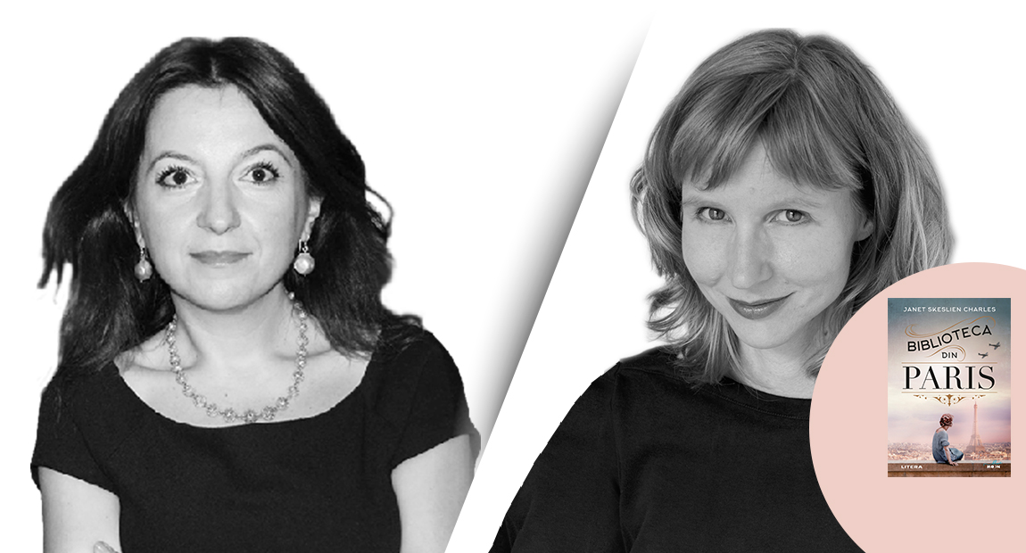 """INTERVIU VIDEO cu Janet Skeslien Charles, autoarea bestsellerului """"Biblioteca din Paris"""""""