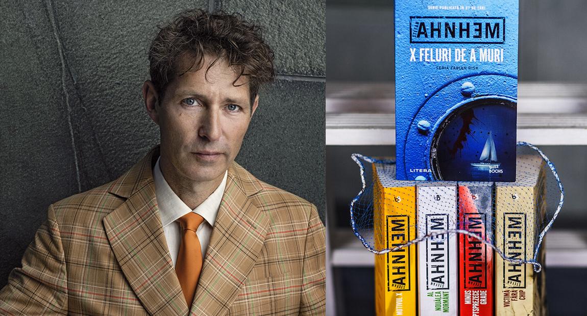 """Dosar: Stefan Ahnhem, autorul celebrei serii """"Fabian Risk"""", apărută la Editura Litera"""