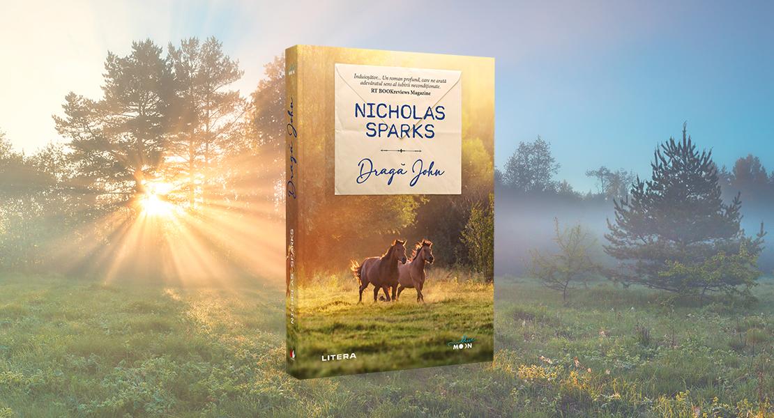 """Marți, 9 martie 2021, la toate chioșcurile de presă: """"Dragă John"""" de Nicholas Sparks"""