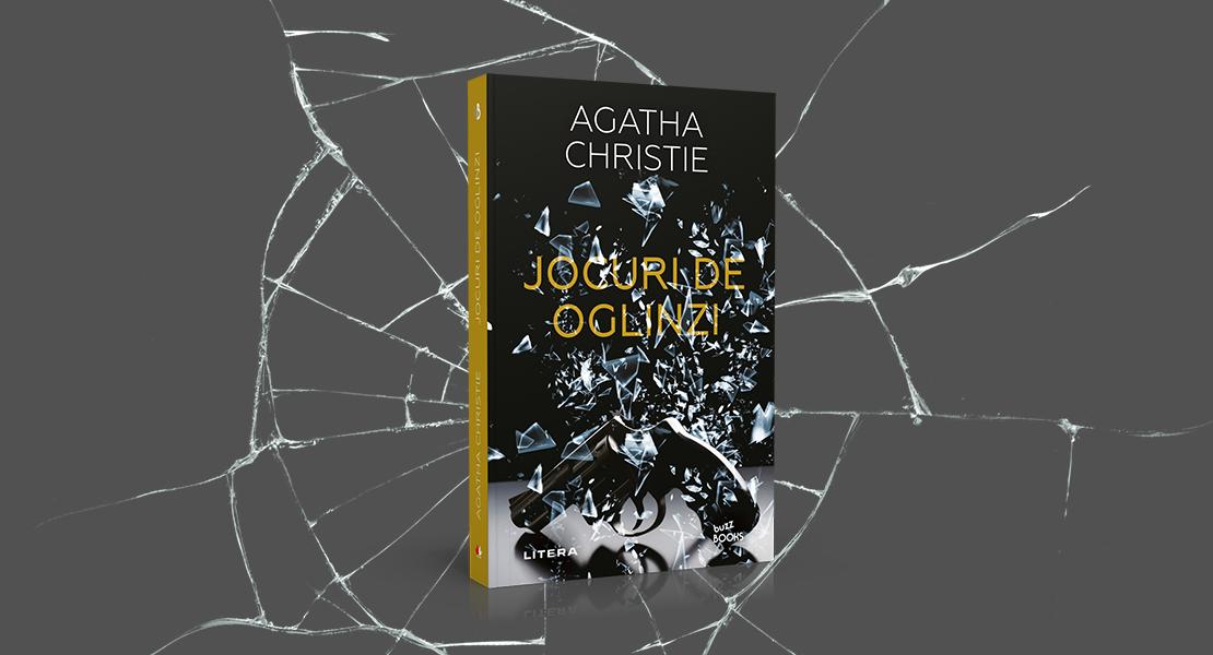 """Vineri, 19 martie 2021, la toate chioșcurile: """"Jocuri de oglinzi"""" de Agatha Christie"""