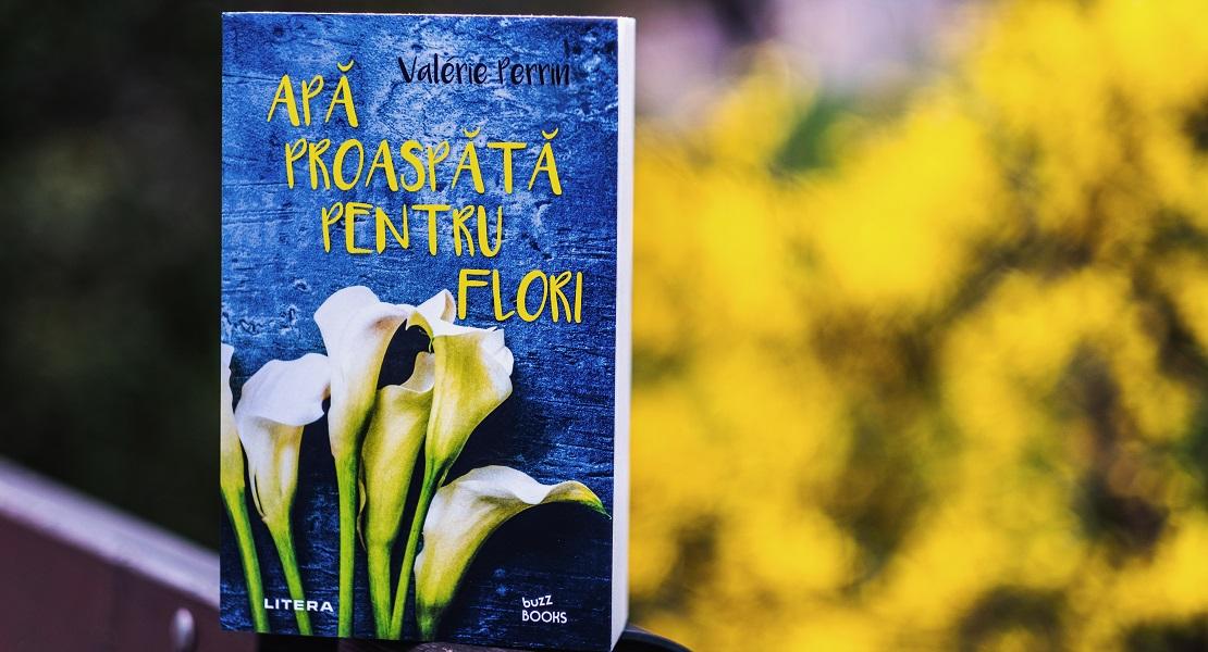 """Bestsellerul săptămânii pe Litera.ro: """"Apă proaspătă pentru flori"""" de Valérie Perrin"""