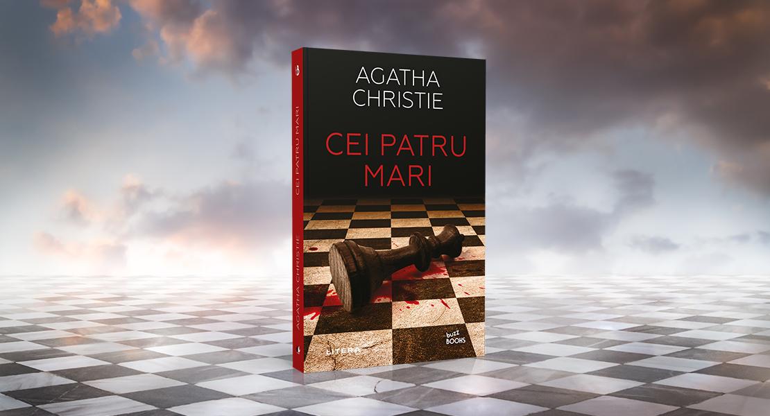 """Vineri, 9 aprilie 2021, la toate chioșcurile de presă: """"Cei patru mari""""de Agatha Christie"""