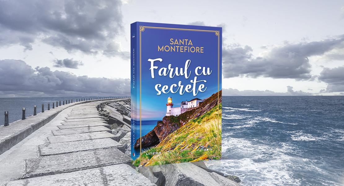 """Marți, 6 aprilie 2021, la toate chioșcurile de presă: """"Farul cu secrete"""" de Santa Montefiore"""