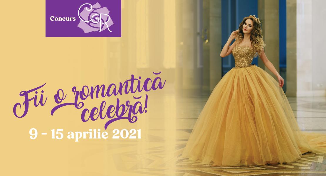 """Înscrie-te la concursul """"Fii o romantică celebră"""" și poți ajunge pe coperta unui titlu din colecția Cărți romantice!"""