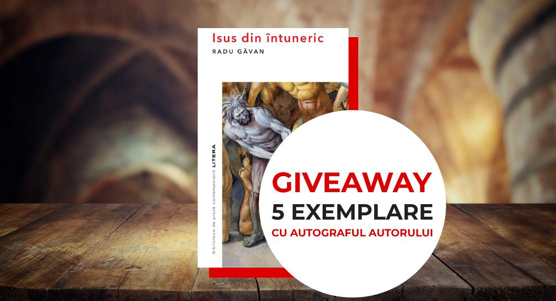 """GIVEAWAY ALERT: Câștigă unul din cele 5 exemplare ale cărții """"Isus din întuneric"""" cu autograful autorului"""