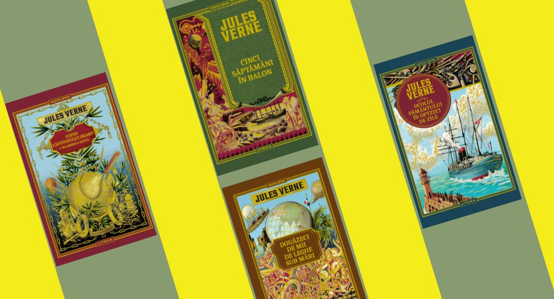 Cele mai palpitante cărți de aventură din toate timpurile ajung la chioșcurile de presă, într-o ediție de lux. Descoperă biblioteca Jules Verne!