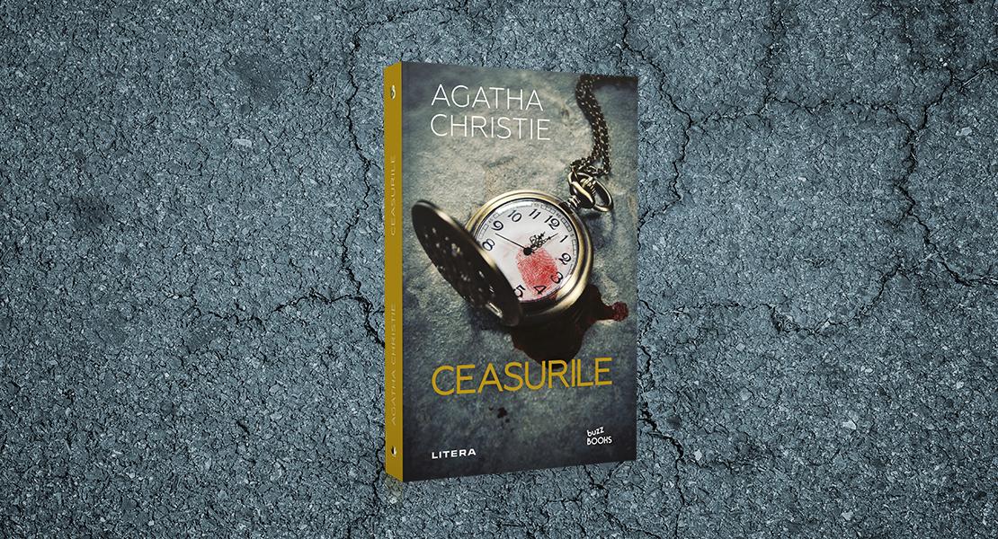 """Vineri, 14 mai 2021, la toate chioșcurile de presă: """"Ceasurile"""" de Agatha Christie"""