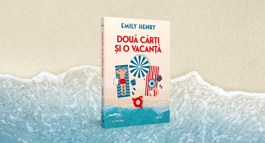 """Marți, 11 mai 2021, la toate chioșcurile de presă: """"Două cărți și o vacanță"""" de Emily Henry"""