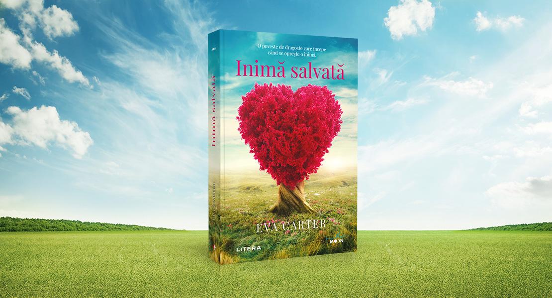 """Marți, 25 mai 2021, la toate chioșcurile de presă: """"Inimă salvată"""" de Eva Carter"""