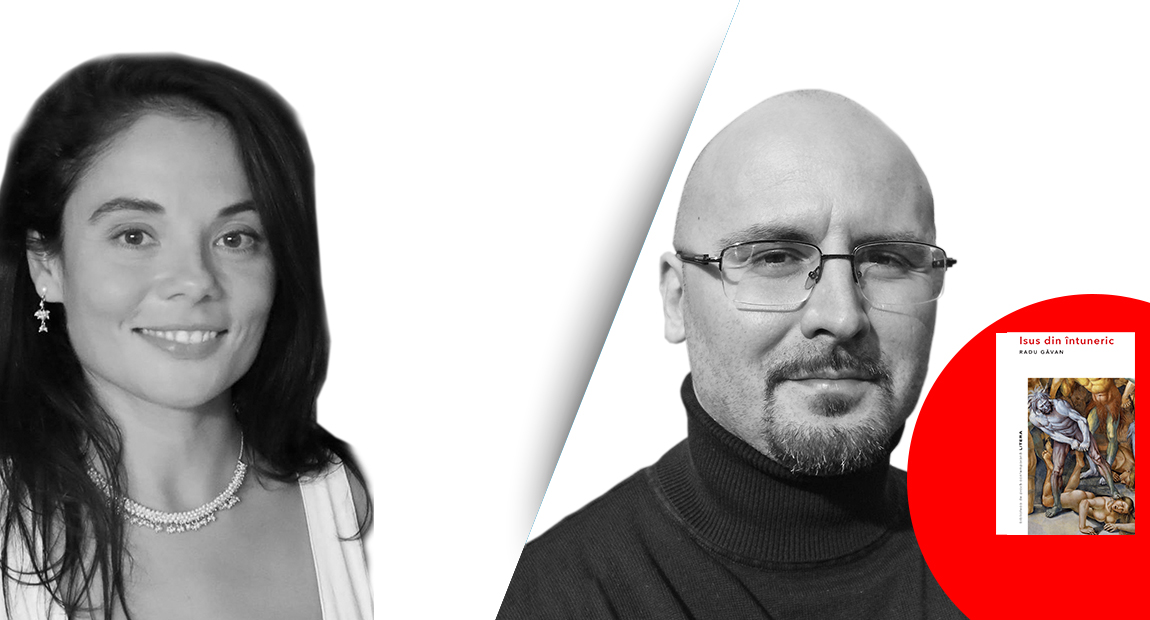 """INTERVIU VIDEO. Nadine Vlădescu în dialog cu Radu Găvan despre """"Isus din întuneric"""""""