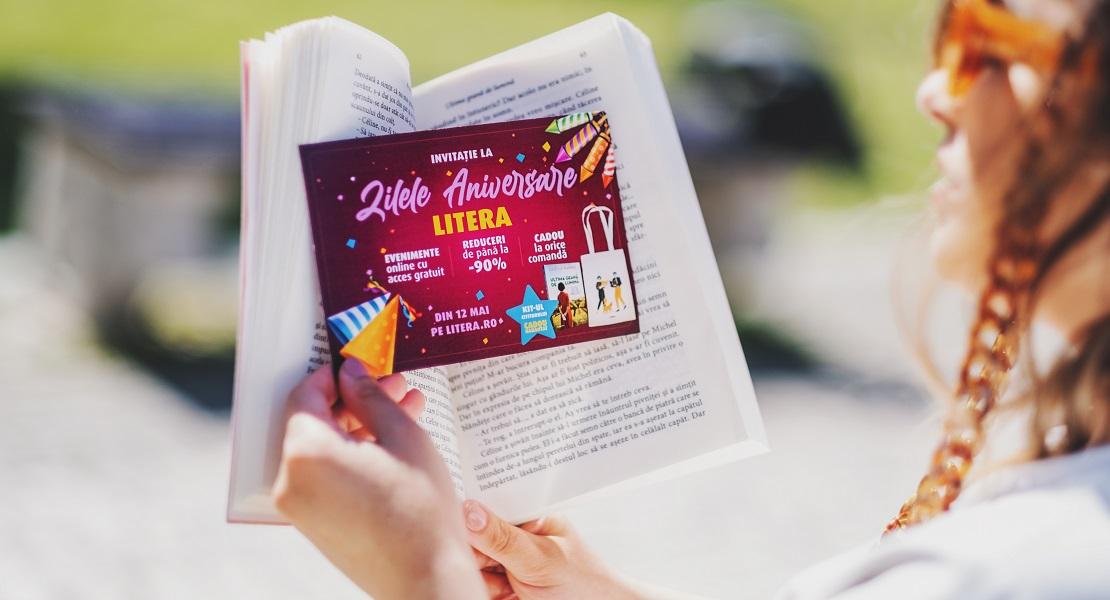 Zilele Aniversare Litera 2021: reduceri de până la 90% și un kit literar cadou la orice comandă!