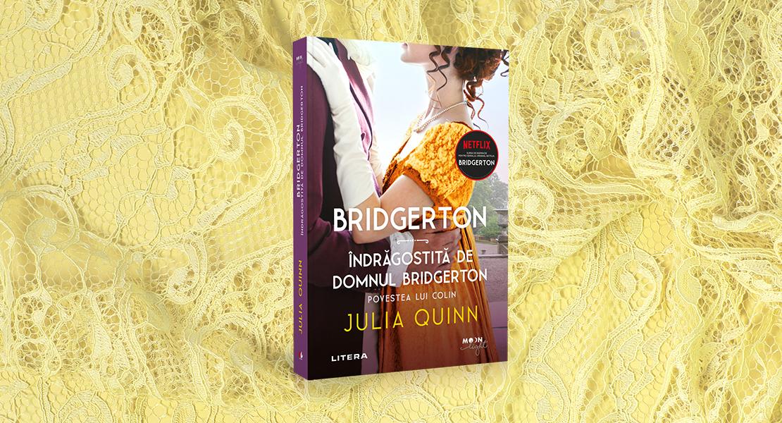 """Joi, 17 iunie 2021, la toate chioșcurile de presă: """"Îndrăgostită de domnul Bridgerton"""" de Julia Quinn"""