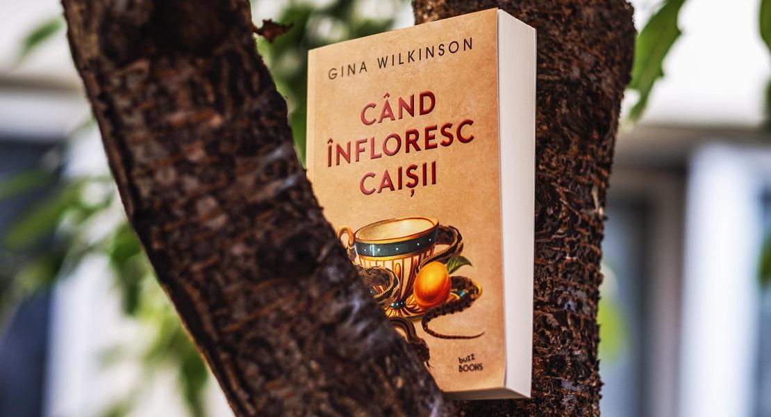 Bestsellerul săptămânii pe Litera.ro: Când înfloresc caișii de Gina Wilkinson