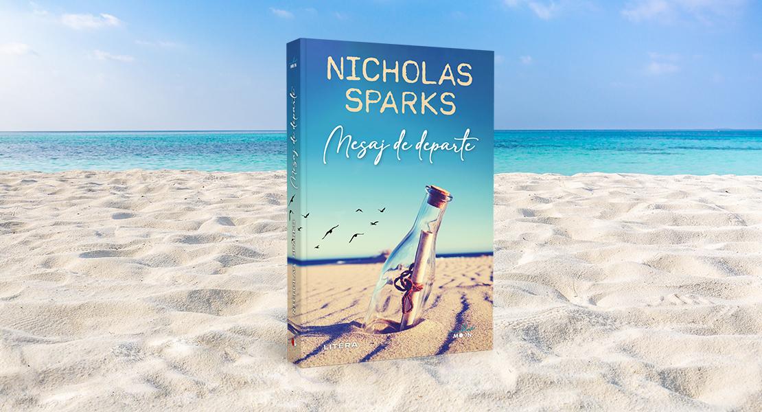 """Marți, 15 iunie 2021, la toate chioșcurile de presă: """"Mesaj de departe"""" de Nicholas Sparks"""