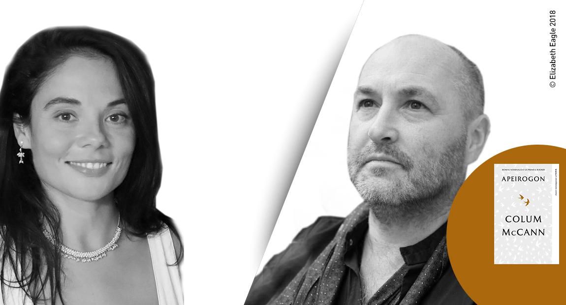 """Interviu VIDEO cu Colum McCann, autorul bestsellerului """"Apeirogon"""": """"Am scris un roman care se întreabă ce este adevărat și ce nu este adevărat"""""""