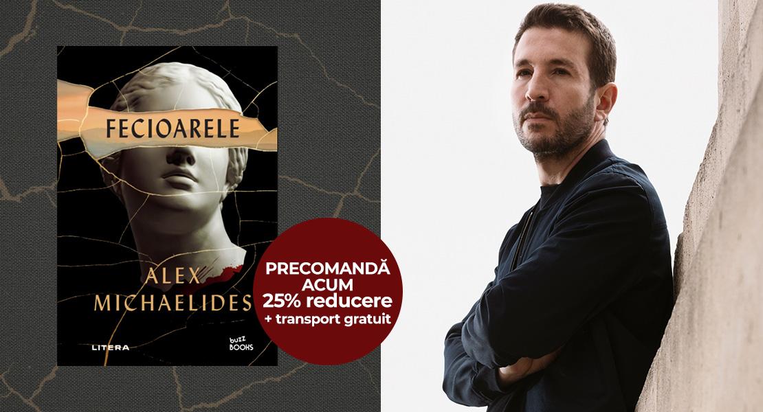 """Precomandă """"Fecioarele"""", al doilea roman al scriitorului Alex Michaelides, cu 25% reducere și transport gratuit pe Litera.ro!"""
