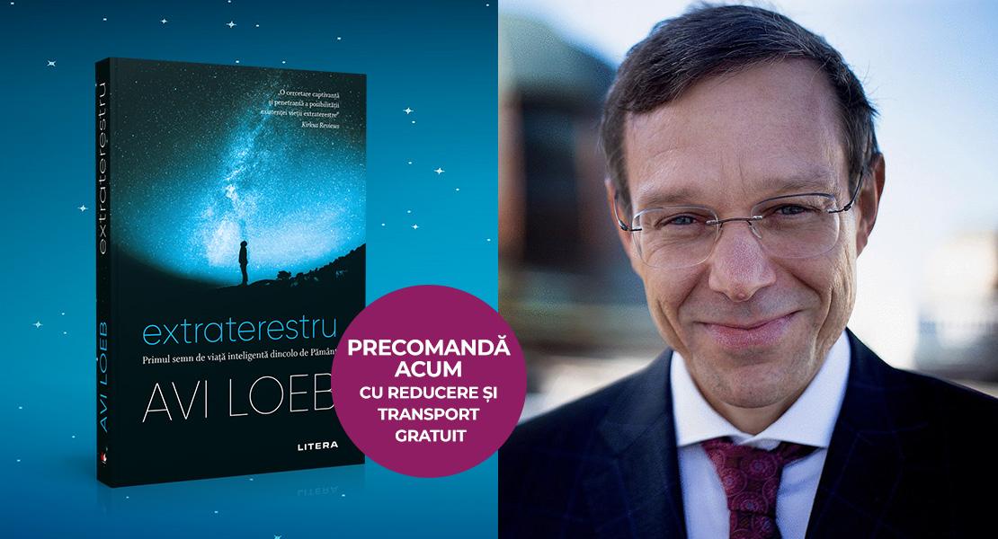 """Precomandă acum volumul """"Extraterestru. Primul semn de viată inteligentă dincolo de Pământ"""" cu 30% reducere pe Litera.ro!"""