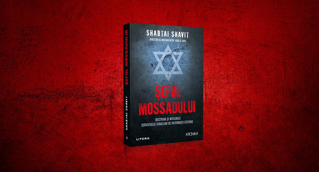 """Bedros Horasangian despre volumul """"Șeful Mossadului"""": """"Lucrarea este o lungă confesiune a celui care se numește Shabtai Shavit"""""""