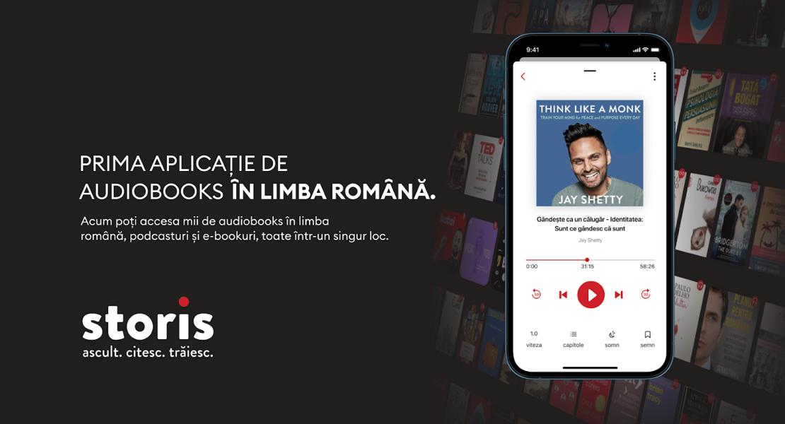 Editura Litera anunță parteneriatul cu STORIS, prima aplicație de audiobookuri, ebookuri și podcasturi în limba română!