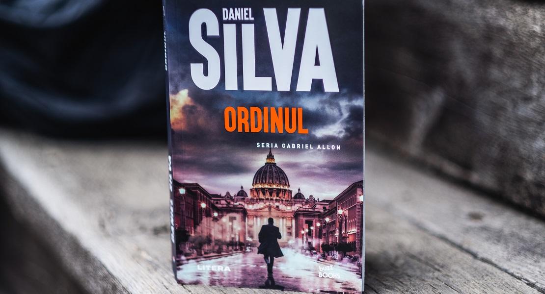 """Bestsellerul săptămânii pe Litera.ro: """"Ordinul"""" de Daniel Silva"""