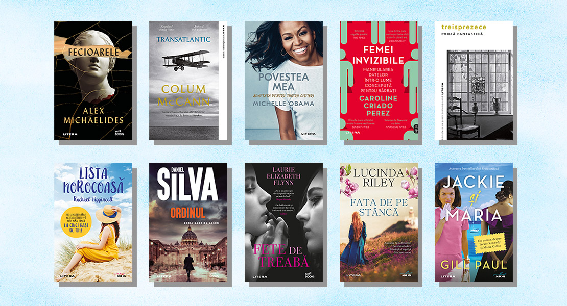 Top 10 cele mai citite cărți Litera în luna iulie 2021