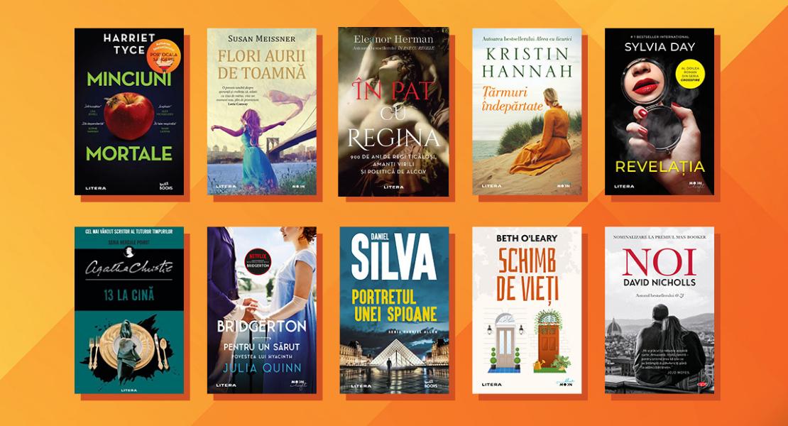 10 cărți în curs de apariție la Editura Litera pe care trebuie să le pui pe lista ta de lectură!