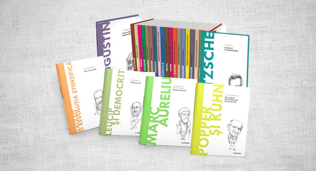"""Colecția """"Descoperă filosofia"""" continuă cu încă 30 de volume! Descoperă ideile marilor gânditori ai lumii"""