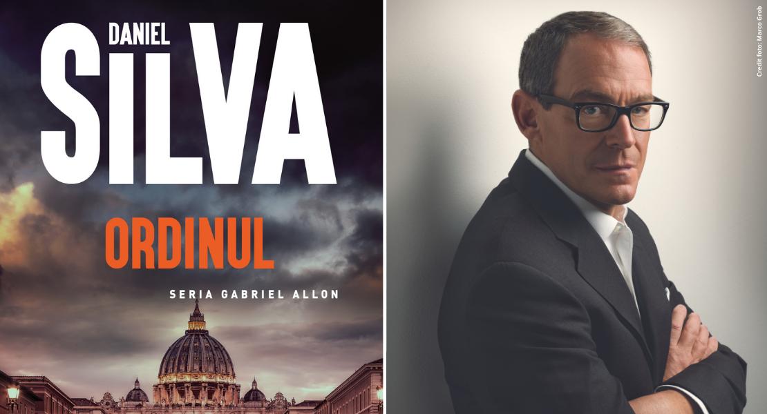 """Citește un fragment în avanpremieră din """"Ordinul"""" de Daniel Silva"""