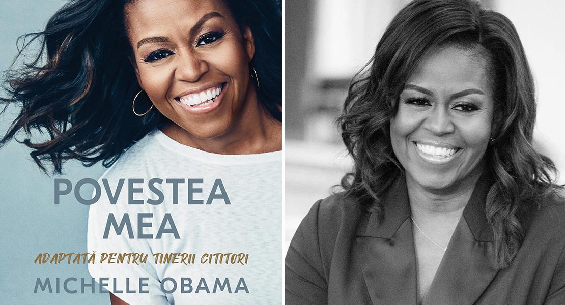 """Citește un fragment în avanpremieră din """"Povestea mea. Adaptată pentru tinerii cititori"""" de Michelle Obama"""