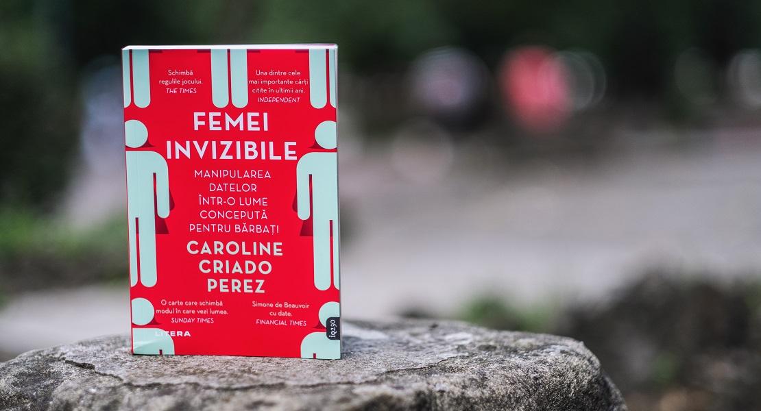 """VIDEO. Volumul """"Femei invizibile"""", dezbătut la Clubul de Carte Litera: """"Un subiect extrem de interesat pentru vremurile pe care le trăim"""""""